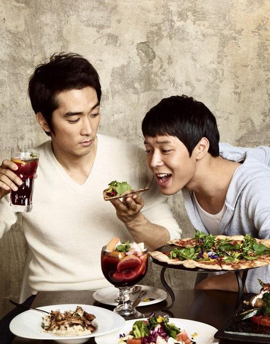 song seung heon and micky yoochun For Black'Smith
