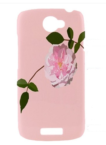 Handmade Rose Android case from i Heart Illustration on Etsy