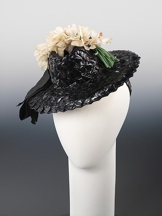 Hat  Selbine   Date: ca. 1938 Culture: American Medium: paper, synthetic, silk