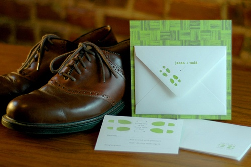 First Dance Invitation for two grooms #marriageequality #twogrooms #LGBT