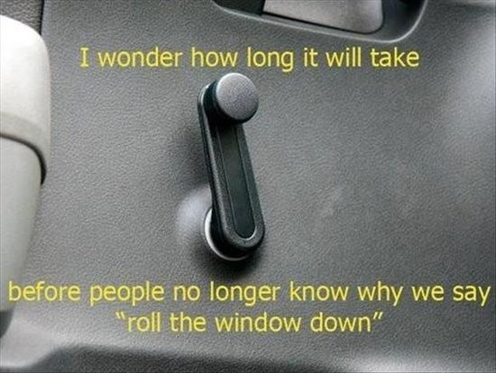 I wonder...