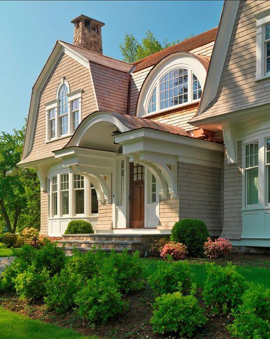 #Elegant #Shingled #Home