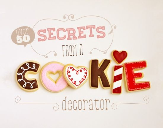 50 Secrets of a Cookie Decorator from Sweetopia