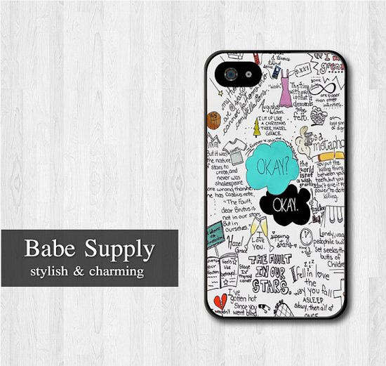 The Fault In Our Stars iPhone 4 case iphone 4s case by BabeSupply, $8.99