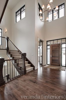 Like the dark wood and banisters