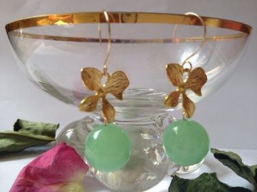 Morning drops handmade earrings