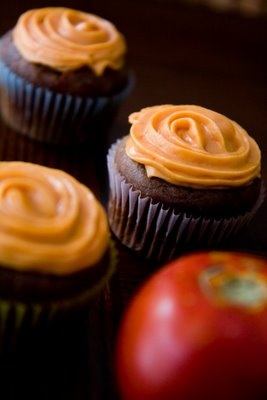 Baked Bean and Tomato Cupcakes ~ Cupcake Project