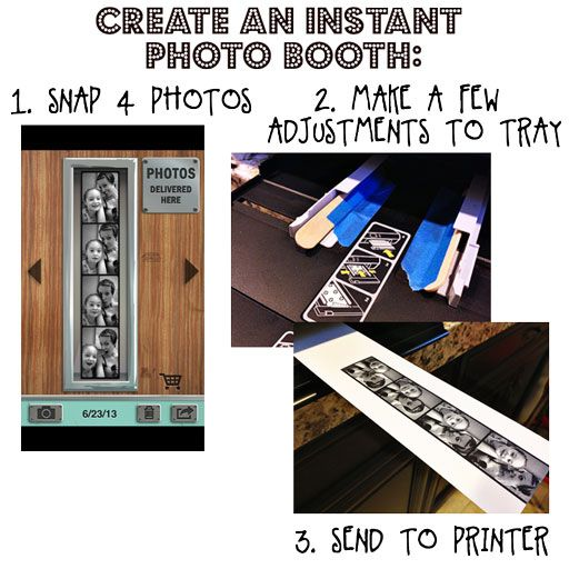 Make a Photo Booth Strip!