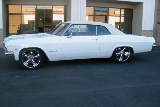 1965 Chevy SS Impala. Classic sports car.