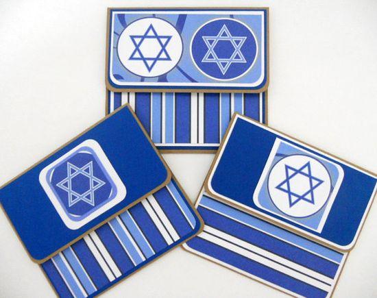 Hanukkah Gift Card Holders