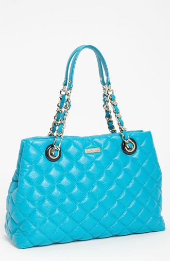 kate spade new york 'gold coast - maryanne' quilted leather shopper #Nordstrom #NSale