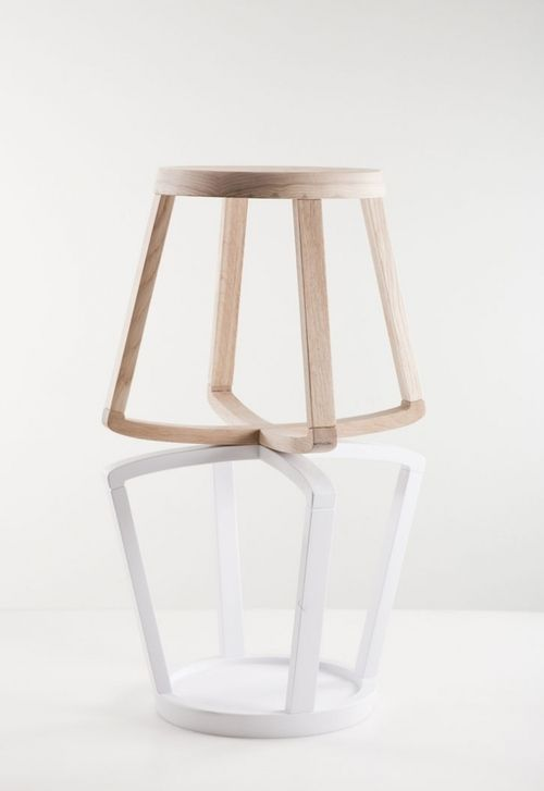 Monarchy stool by Yiannis Ghikas