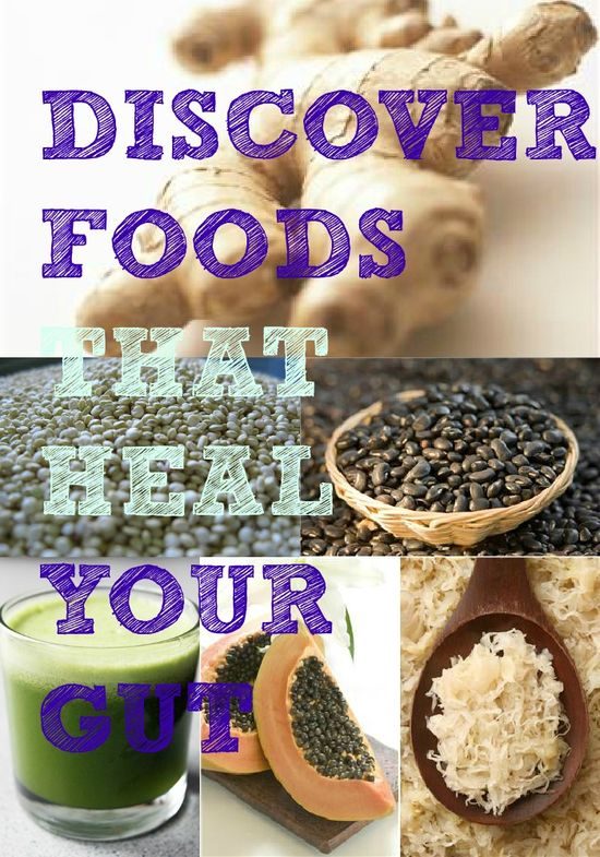 foods that heal your gut