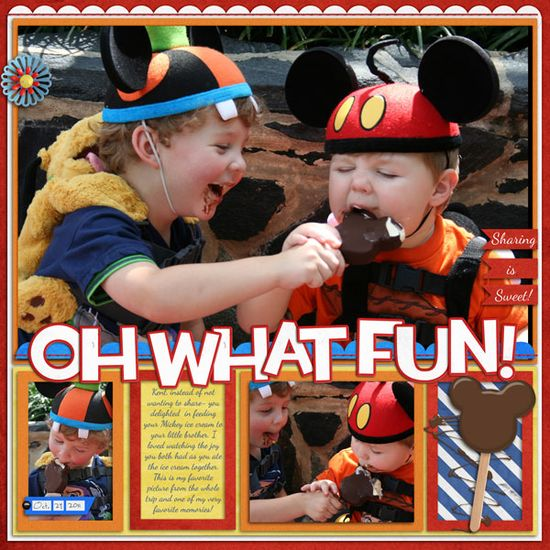 Disney Mickey Pop Page