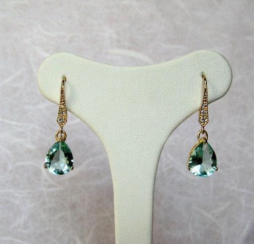 Teardrop Earrings Erinite, jewelry sale, statement jewelry, winter jewelry, italian handmade jewelry