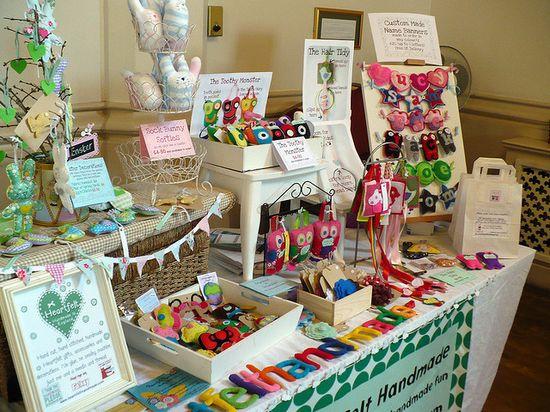 fantastic craft fair display