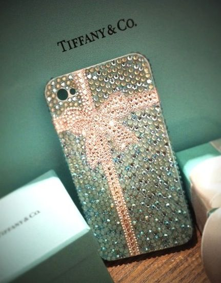 Tiffany & Co. iPhone case.