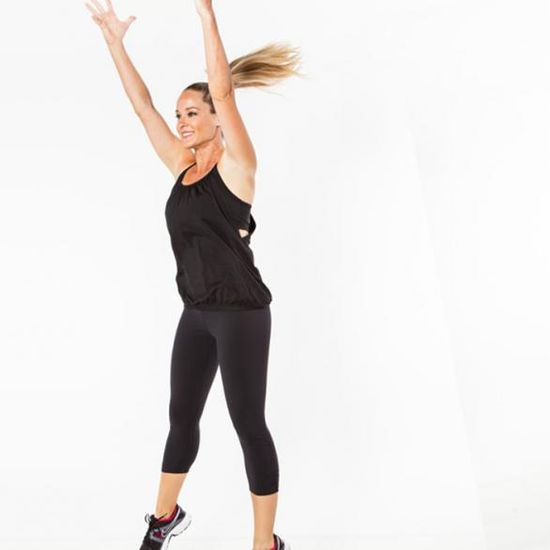 Burpees are an intense cardio and strength bodyweight exercise you can do anywhere. No excuses!