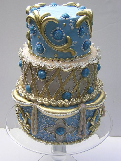 Baroque Cake by Osedo L Cakes, via Flickr
