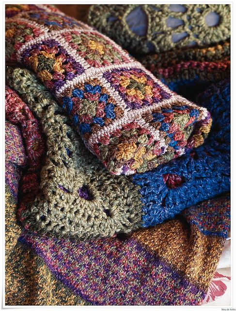 crochet...love these colors