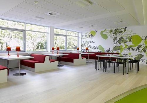 Modern meeting room office designs by Bosch & Fjord Architecture