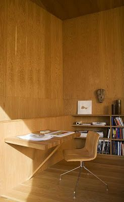 #architecture #design #interior design #home decor #workspaces #home offices #wood