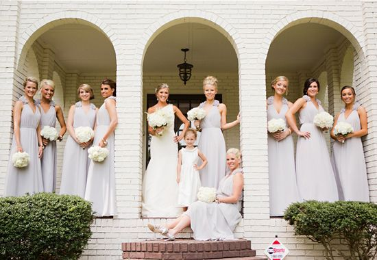 Beautiful bridesmaids in light #Romantic Life Style
