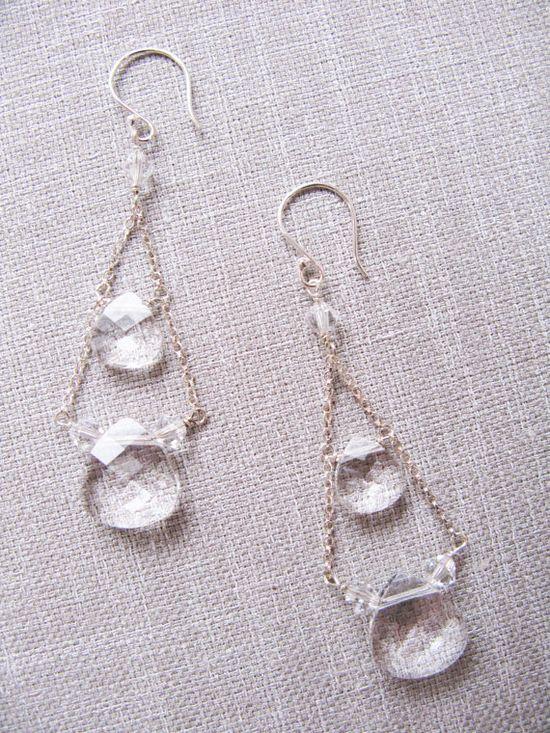 SWAROVSKI crystal gypsy earring by trinkjewelry