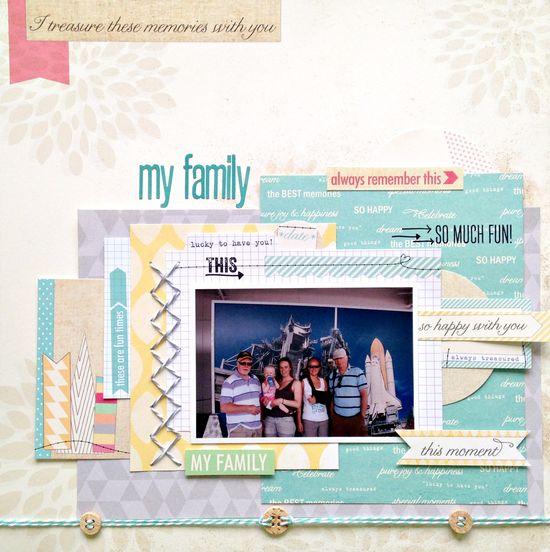 My family - Scrapbook.com