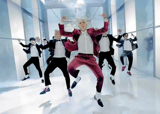 Block B Very Good - Gangnam Style Dance