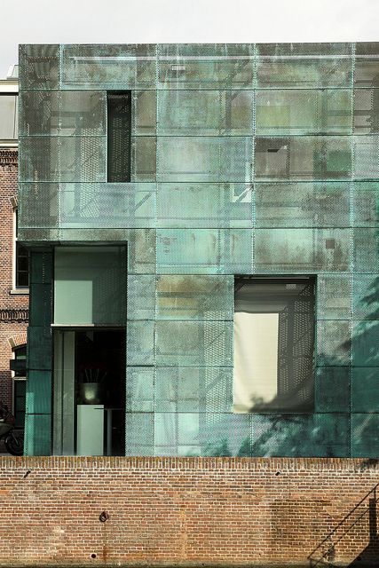 Sarpathistraat Offices by Steven Holl