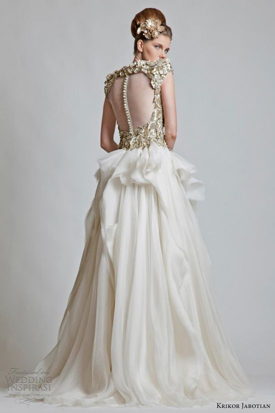 krikor jabotian bridal collection 2013