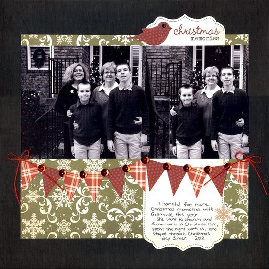 Christmas Memories - Scrapbook.com