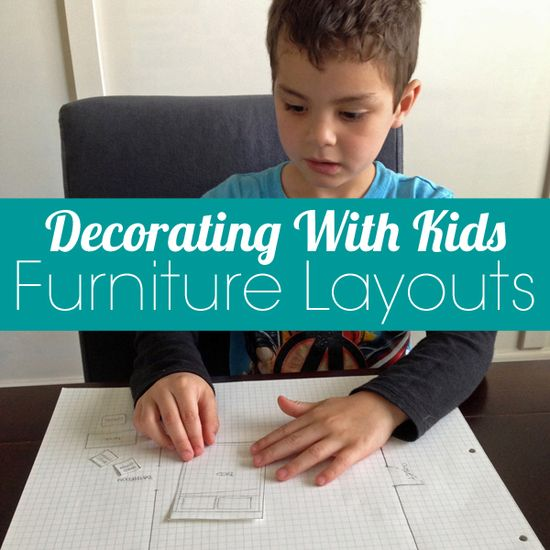 Creating furniture layouts with kids
