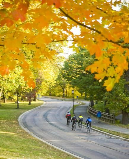 Take in fall color on Minneapolis' Grand Rounds Scenic Byway. Details: www.midwestliving...