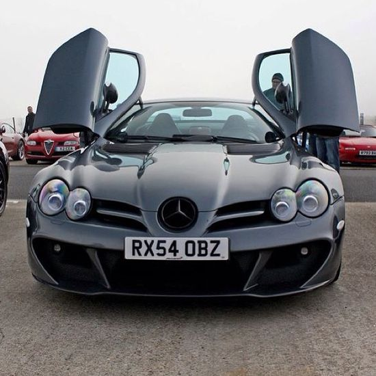 The Stig's favourite - The Mercedes McLaren SLR