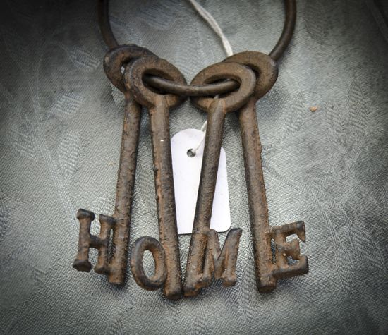 Rustic home keys