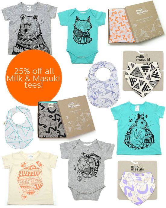 Milk & Masuki baby products