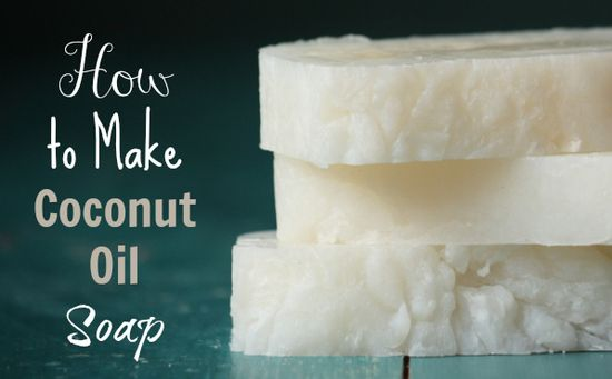 How To Make Pure Coconut Oil Soap Love it!