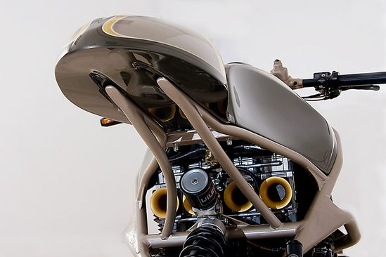 "Custom Wolf - ""Scoop"" CaféRacer - Pipeburn - Purveyors of Classic Motorcycles, Cafe Racers & Custom motorbikes"