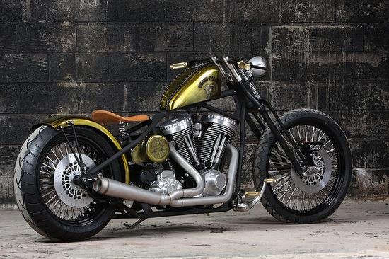 Darwin Motorcycles, Brass Balls Bobber