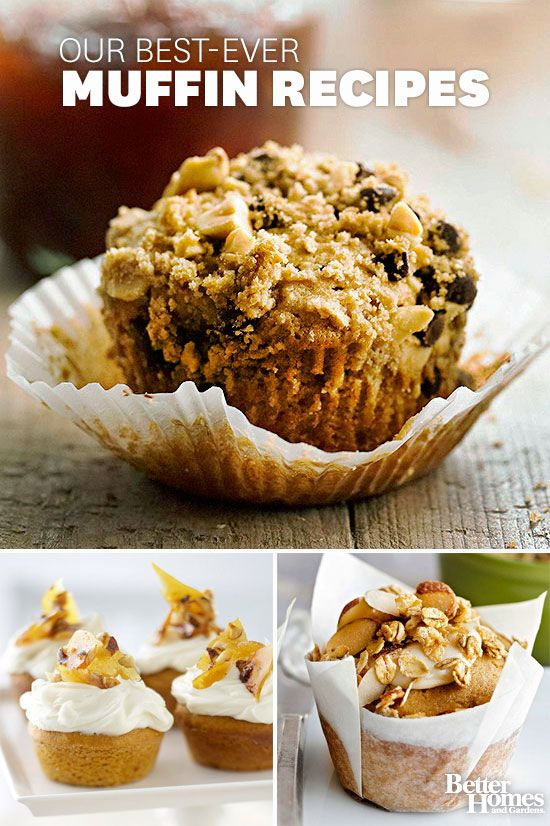 Here are some of our favorite muffin recipes: www.bhg.com/...