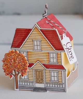 cute house favor box - bjl