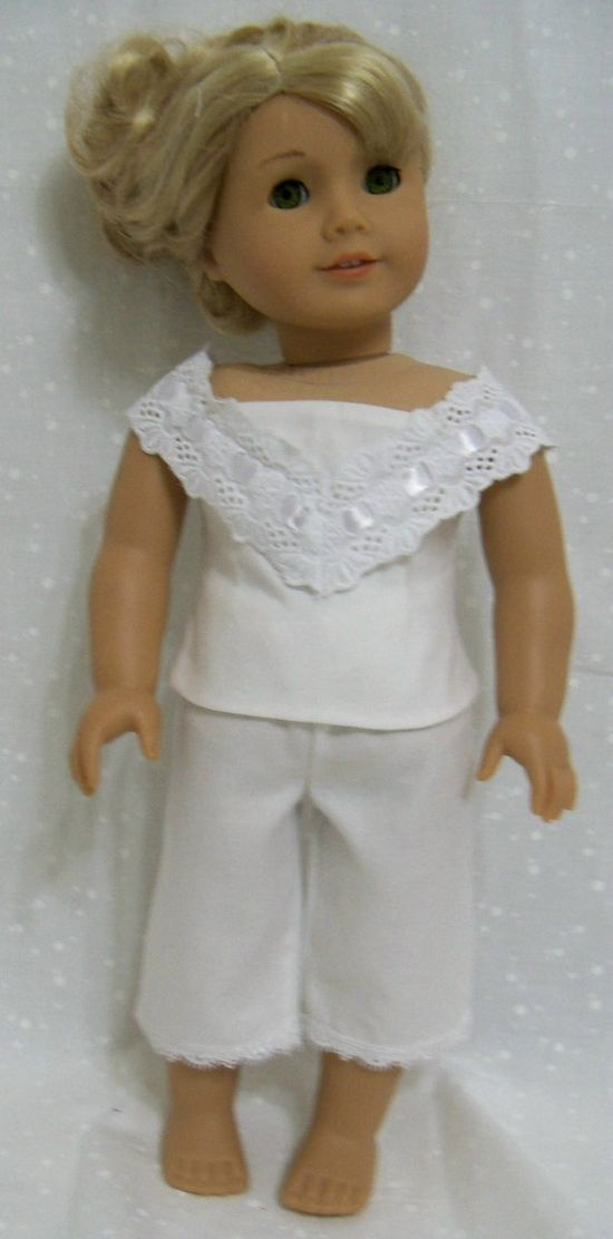 I8 Inch Doll Clothes American Girl Tailored by ThreadsAndSplinters, $18.00
