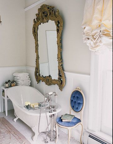 33+Cool+Idea+To+Use+Big+Golden+Mirrors+For+Your+Decor