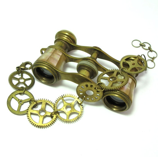 Vintage Gears Bracelet Designed By Mystic Pieces #steampunk #jewelry #mysticpieces #etsy