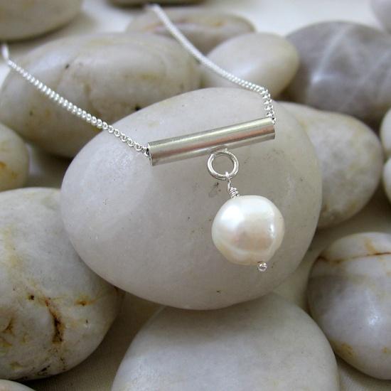 Pearl Pagoda Necklace - by Small Bird Jewelry @Jenna Nelson T.