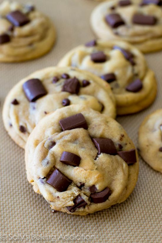 Chewy Chocolate Chunk Cookies.