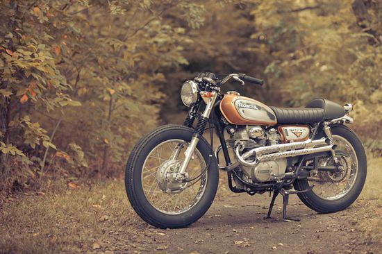 1972 CL350 Brat-Tracker - Pipeburn - Purveyors of Classic Motorcycles, Cafe Racers & Custom motorbikes