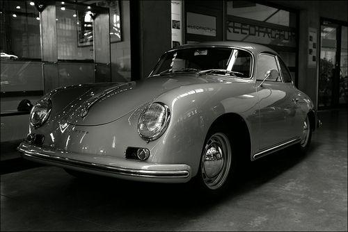 Porsche - vintage sports car